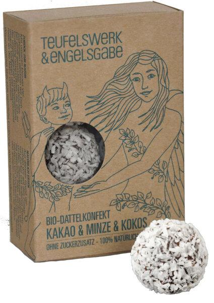 Bio Dattelkonfekt Kakao & Minze & Kokos 84g