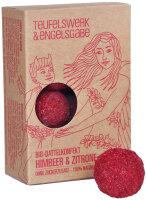 Bio Dattelkonfekt Himbeer & Zitrone 84g